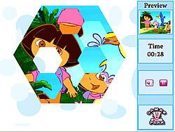 Crazy Puzzle-Dora game