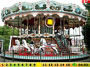 Hidden Numbers Merry Go Round game