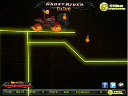 Ghost Rider Drive game