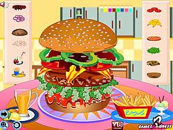 Hot Burger game