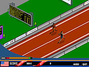 Play Grab the glory 100 meter sprint Game
