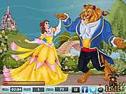 Kissing Beauty and the Beast game