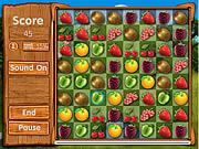 Fresh Fruit Gold Match game