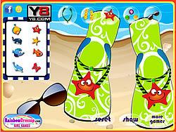 Custom Flip Flops game