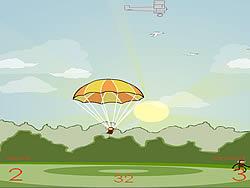 Sky Dive game