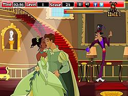 Kissing Frog and Princess game