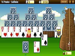 Tri-Peaks Solitaire game