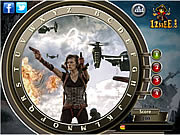 Resident Evil Retribution - Find the Alphabets game