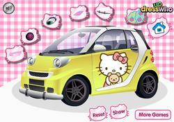 Hello Kitty Car game