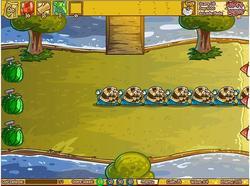 Fruit Defense game
