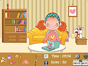 Girls Room Hidden Object game