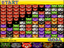 Colored Cats game