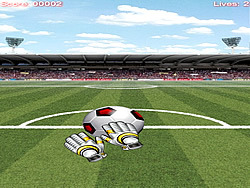 Goal Keeper game