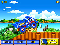 Sonic The Hedgehog Xtreme Truck game