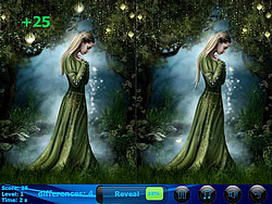 Print Witches 5 Differences game