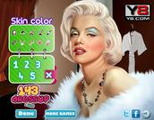 Marilyn Monroe Facial Spa Makeover game