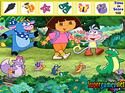 Dora the Explorer Hidden Objects game