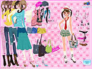 Play Coolest fashion Game