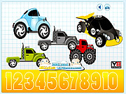 Counting Hidden Cars game