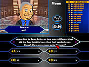 Play Lord of the rings millionaire Game