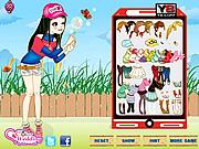 Jucați jocuri gratuite Fun Bubble Girl Dressup
