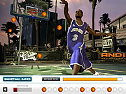 Hidden Basketball game