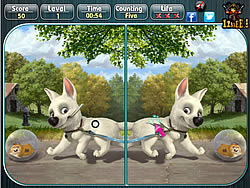 Bolt - Spot the Difference game