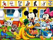 Mickey and Friends Hidden Objects game
