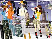 Fashion Army Skirts game
