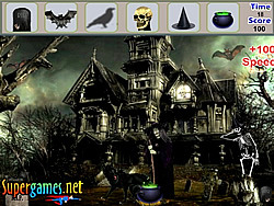 Scary Palace Hidden Objects game