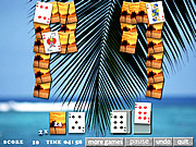 Tropical Solitaire game
