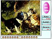Naughty Cats Hidden Numbers game