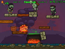 Zombies For Soup game