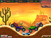 Crazy Monster Truck game