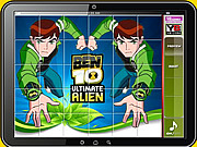 Ben 10 Puzzle Game game