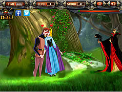 Kissing Sleeping Beauty game