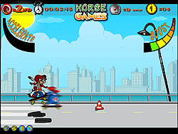 Skate Horses game