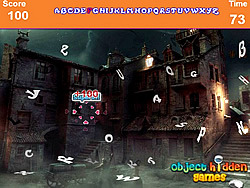 Scary Palace Hidden Alphabets game