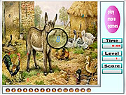 juego Big Farm Animals Hidden Numbers