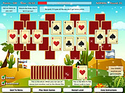 CardMania Golf Solitaire game
