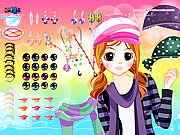 Jenny Dress Up game