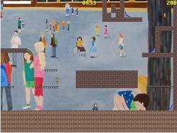 School skater game