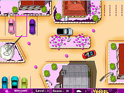 Cute Girl Parking game