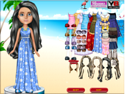 Beach Bratz Dress Up game