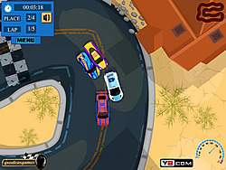 Dirt Track Racer game