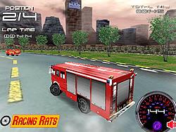 Fire Truck Racer 3D game