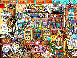 Messy Room G2D game