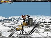 Freezing Rider game