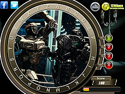 Real Steel - Find the Alphabets game
