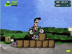 Crazy Tarzan Bike game